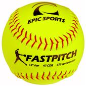 "12"" Fast Pitch Practice Softballs (1-Dozen)"