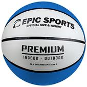 Epic Multi-Color Rubber Recreational Basketballs