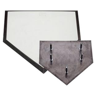 White Champro 3 Spike Home Plate B032