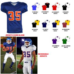 Fleaflicker Reversible Adult Custom Football Jersey - Football ... dd69add7d