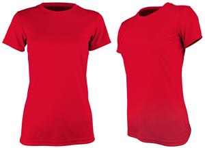 Epic Womens Cool Performance Dry-Fit Crew T-Shirts. Printing is available for this item.