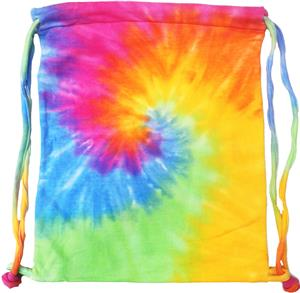 Colortone Cinch Drawstring Sport Tie-Dye Bags
