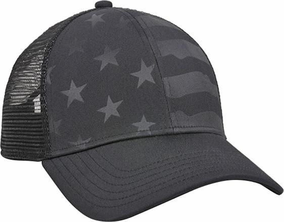 e18cc07b OC Sports Debossed American Flag Mesh Back Cap   Epic Sports