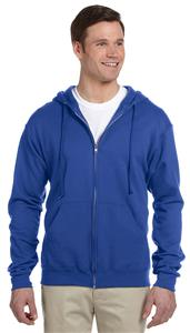 Jerzees Adult Youth NuBlend Fleece Full-Zip Jacket. Decorated in seven days or less.