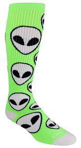 Epic Alien Over The Calf Knee High Socks
