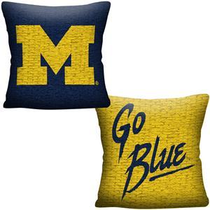 Northwest NCAA Michigan Invert Woven Pillow