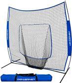 Powernet Baseball Screen Net w/Sock 7'x7'