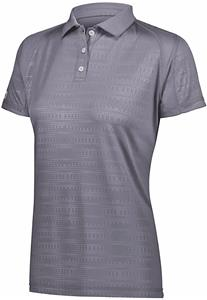 Holloway Ladies Converge Polo 222764. Embroidery is available on this item.