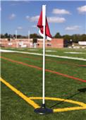 Jaypro Soccer Corner Flags Set of 4