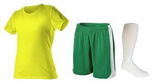 Womens All Sport Jersey Softball Shorts & Sock KIT