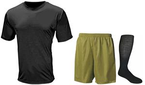 Mens All Sport Performance Tee Shorts & Sock KIT