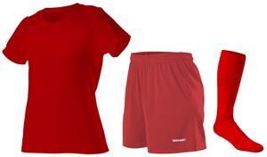 "Womens All Sports Jersey Tee 5"" Shorts & Sock KIT"