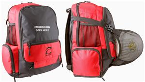 Epic Multi Sport Ball Carrier Backpack. Embroidery is available on this item.