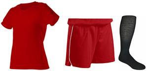 "Womens All Sports Jersey 7"" Shorts & Sock KIT"