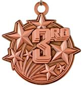 """Epic 2 1/4"""" Shooting Star Place Medals"""