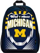 "Northwest NCAA Michigan ""Lightning"" Backpack"
