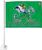 NCAA Notre Dame Fighting Irish 2 Side Car Flag