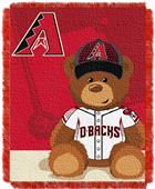 Northwest MLB Arizona Field Bear Baby Throw