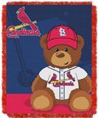 Northwest MLB St. Louis Field Bear Baby Throw