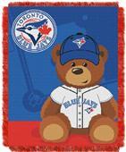 Northwest MLB Toronto Field Bear Baby Throw