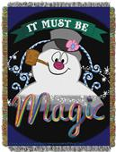 Northwest Frosty the Snowman Woven Tapestry Throw