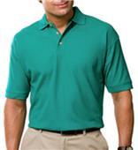 Blue Generation Mens SS Egyptian Cotton Polo Shirt