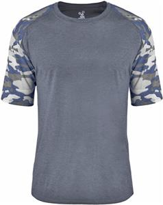 Badger Adult Youth Vintage Camo Sport Tee