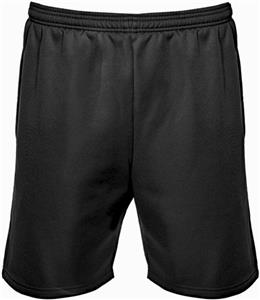 "Badger Mens Poly Fleece 7"" Shorts"