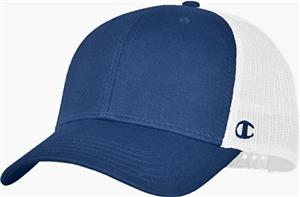 Champion Trucker Mesh Hat. Embroidery is available on this item.
