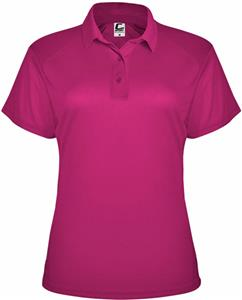 Badger Sport Womens C2 Utility Polo. Embroidery is available on this item.