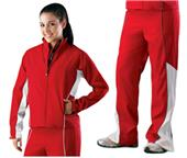Womens Water Repellant Warmup Jacket Pants Kit