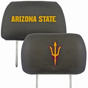 Fan Mats NCAA Arizona State Head Rest Cover (set)