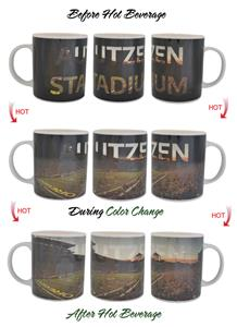 NCAA Autzen Stadium ThermoH Exray Mug