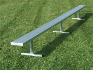 NRS Portable Aluminum Bench Galvanized Legs. Free shipping.  Some exclusions apply.