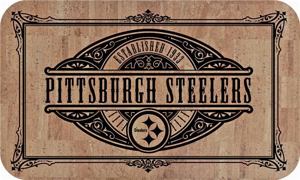Fan Mats Nfl Pittsburgh Steelers Cork Comfort Mat Epic Sports