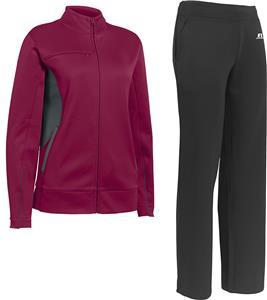 Womens Full Zip Jacket & Warmup Pants KIT