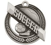 "Hasty Award Wreath 2"" Soccer Medal"