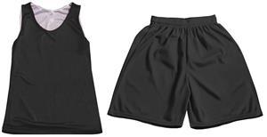 Women Girl Reversible Tank Top & Shorts KIT