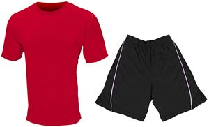 Adult Youth Cool Performance Crew Tee Shorts KIT