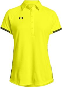 Under Armour Womens Rival Polo. Embroidery is available on this item.