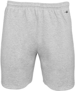 "Badger Men Youth Athletic Fleece 7"" Shorts"