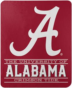 "Northwest NCAA Alabama ""Control"" Fleece Throw"