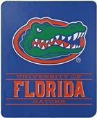 """Northwest NCAA Florida """"Control"""" Fleece Throw"""