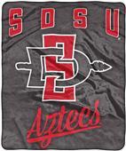 """Northwest NCAA San Diego St """"Alumni"""" Raschel Throw"""
