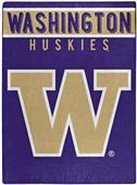 "Northwest NCAA Washington ""Basic"" Raschel Throw"