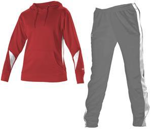 Womens Long Sleeve Hoodie & Warmup Pants KIT