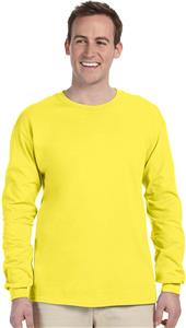 Fruit of the Loom Mens Youth Cotton LS Tee. Printing is available for this item.
