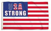 BSI USA Strong 3' x 5' Flag w/Grommets