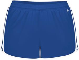 "Badger Sport Girls Velocity 2.5"" Shorts"