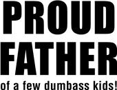 Epic Adult/Youth Proud Father Cotton T-Shirts